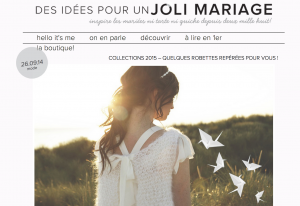 Dossier de presse - Des idées pour un jolie mariage