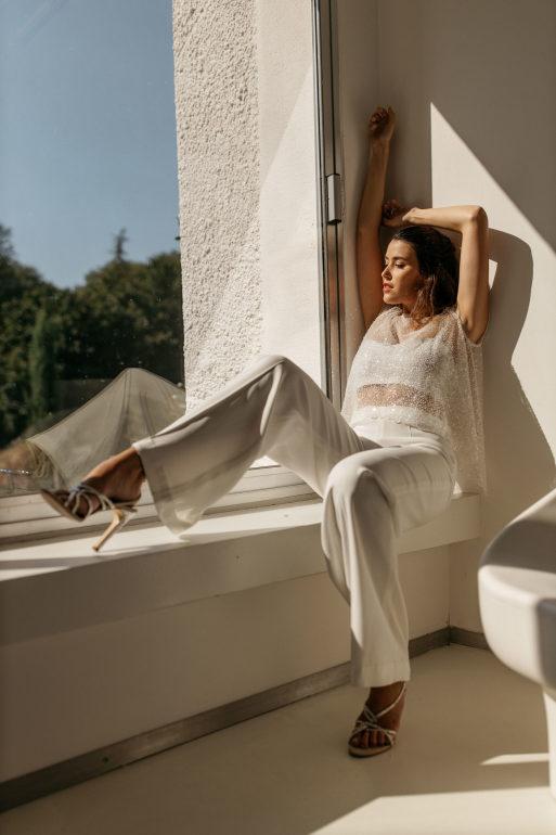 Pantalon Charm et boléro Paloma 3.Yann Audic.Collection 2021